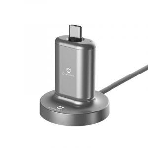 Quawins Caricatore Magnetico con Power Bank